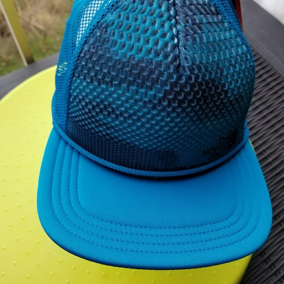 The North Face Trail Trucker Hat Brilliant Blue 777a45c01d3